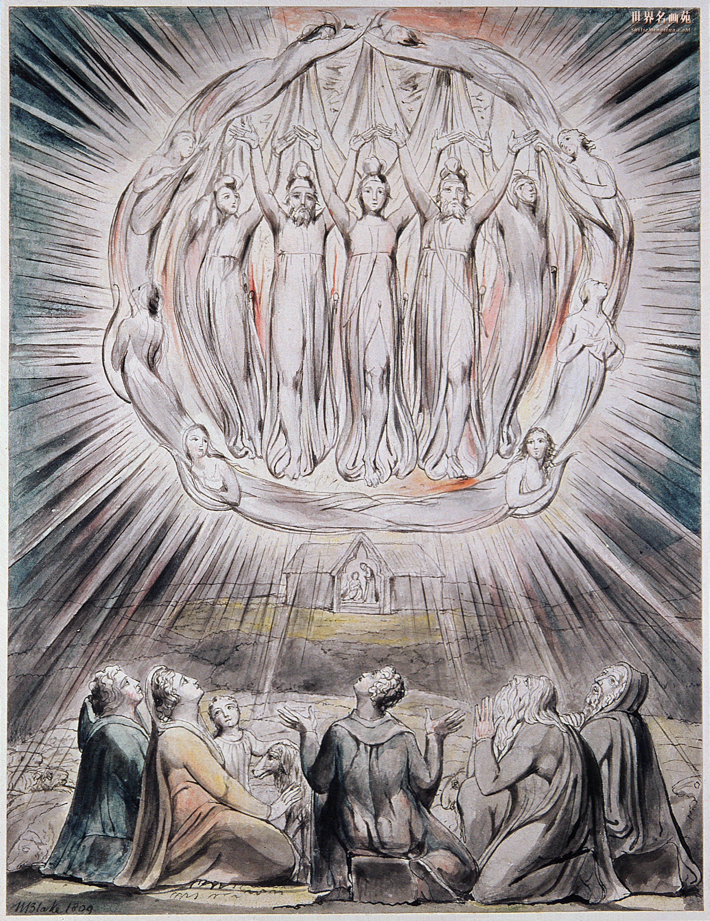 Aries and individuation gray crawford william blake angels appearing before shepherds biocorpaavc Image collections