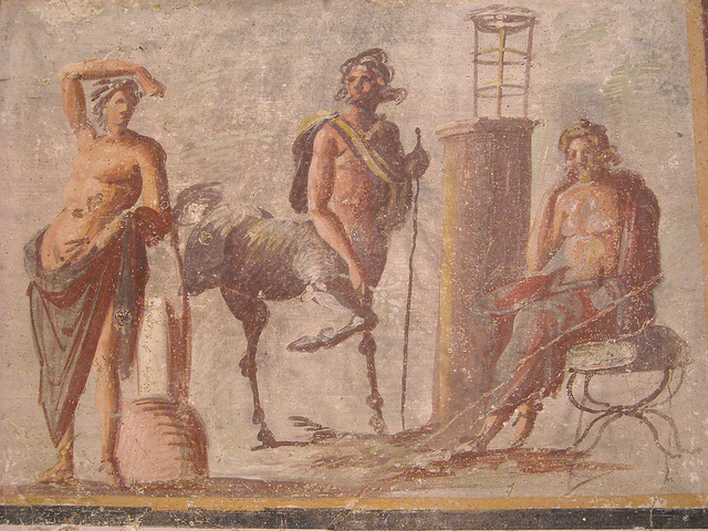 chiron with apollo and asclepius
