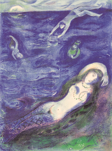Chagall - so i came forth of the sea