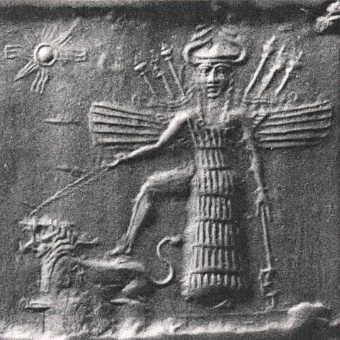 goddess-inanna-and-her-lions