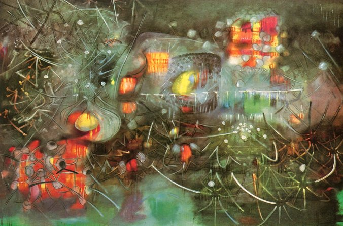 Roberto Matta bringing the light without pain