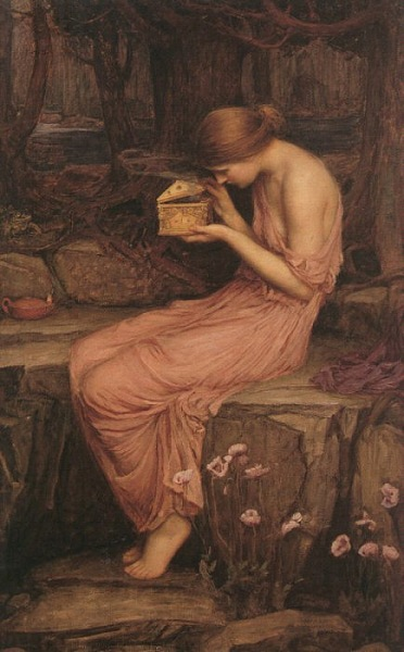 Psyche opening box by Waterhouse