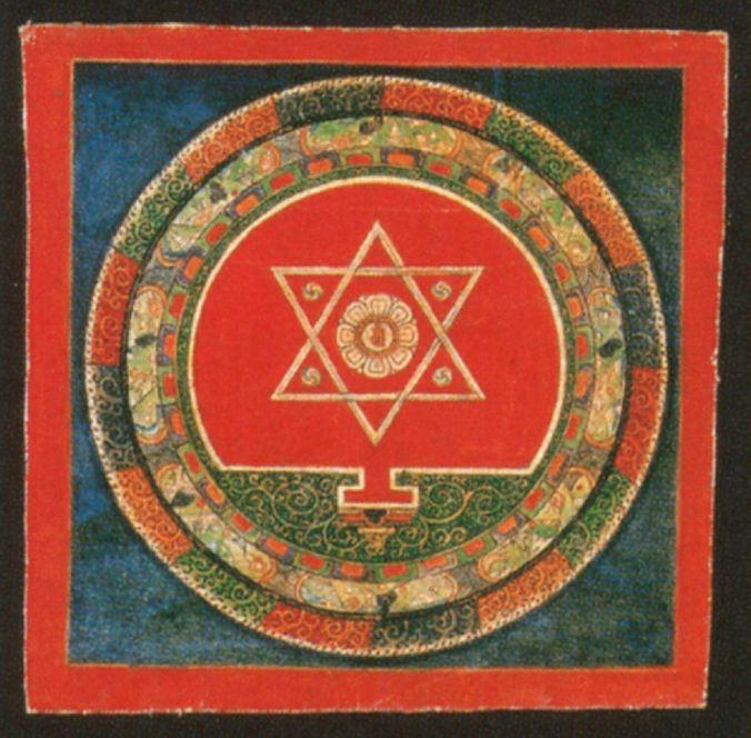 double tetrahedron mandala