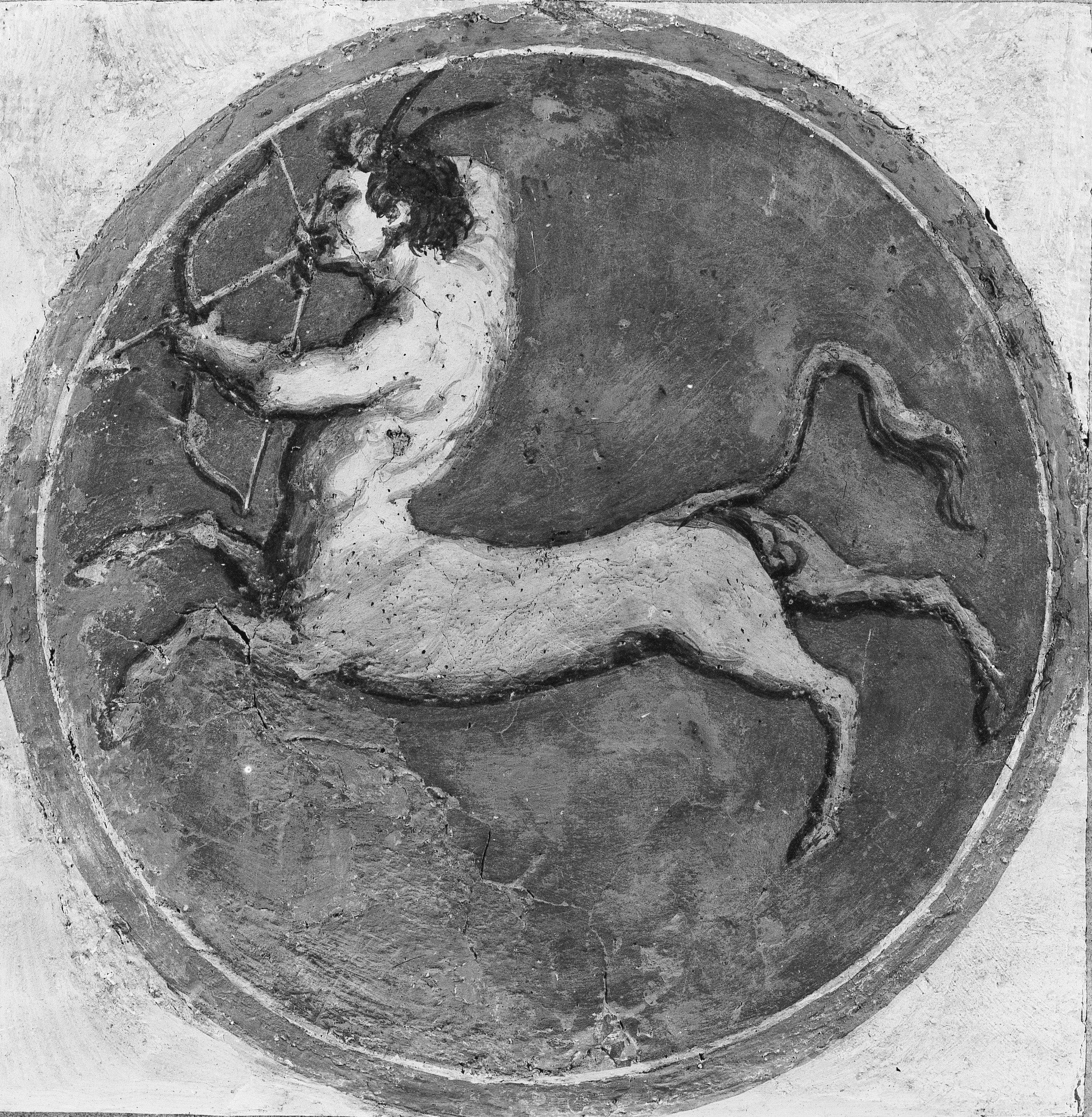 Saturn in Sagittarius centaur