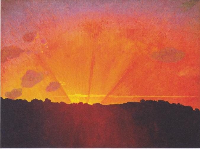 Félix_Vallotton_-_Sonnenuntergang,_orangefarbener_Himmel