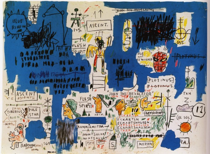 Full Moon in Sagittarius Ascent by Basquiat