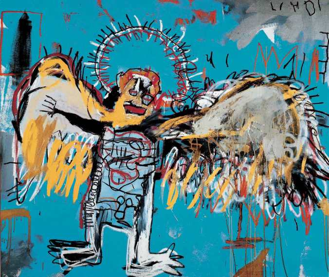 Full Moon in Sagittarius Angel by Basquiat