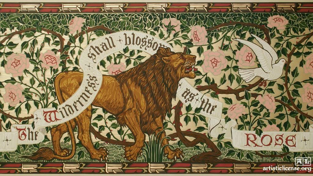 Wilderness Lion
