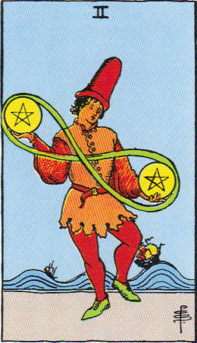 2 of Pentacles