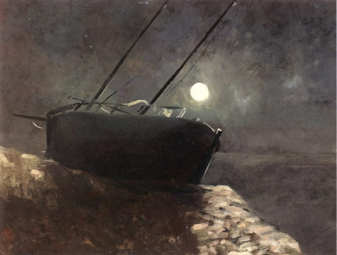 boat-in-the-moonlight