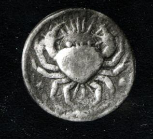 Cancer silver coin