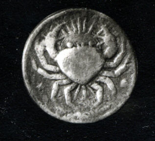 Cancer silver coin