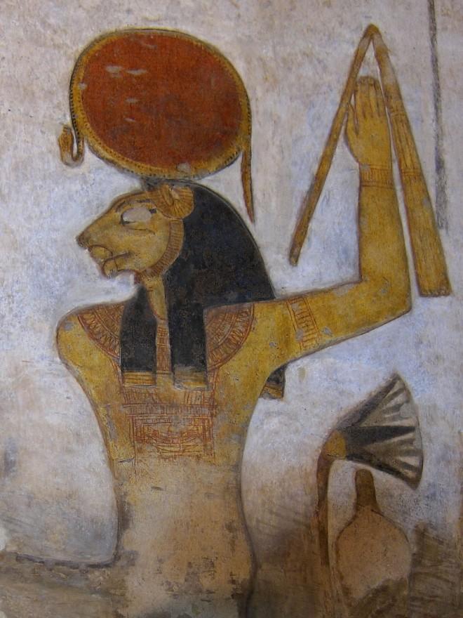 Sekhmet as Venus in Leo