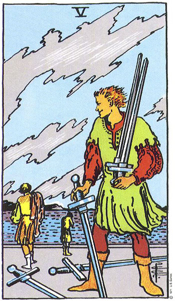 5 of Swords