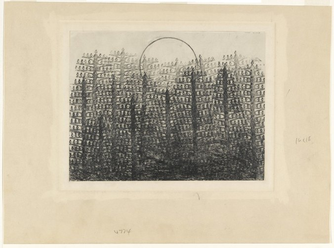 Ernst forest and sun