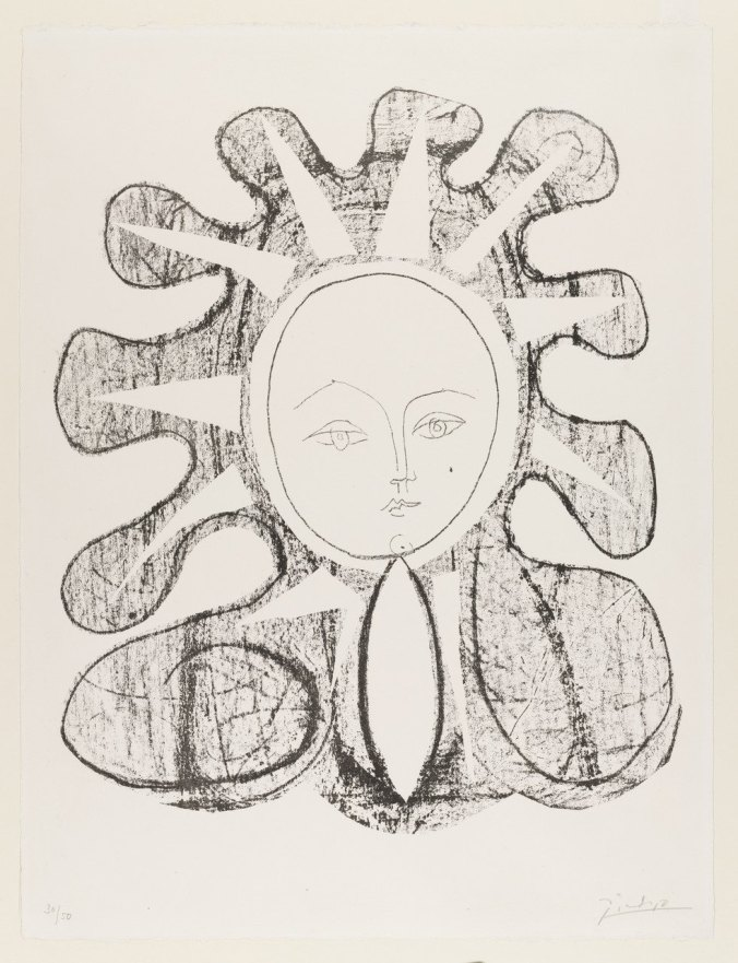 Picasso Francoise as the Sun