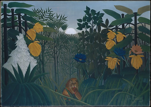 Lion by Rousseau