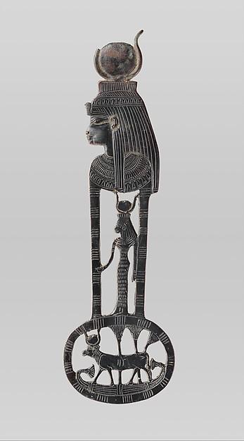 Hathor cow woman