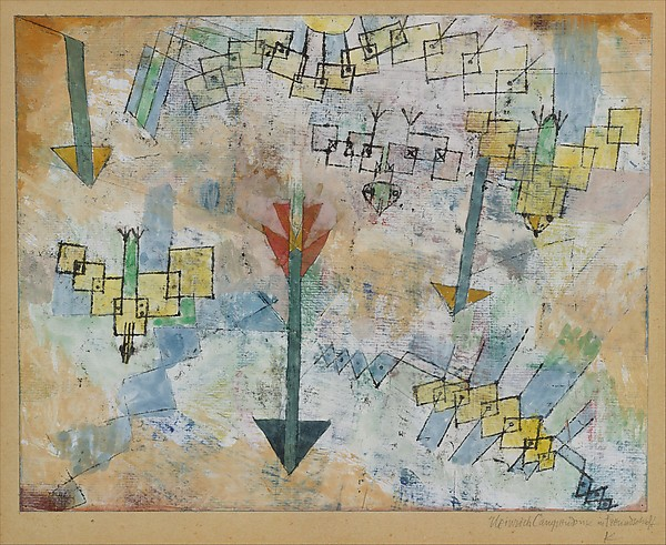 paul klee swooping down