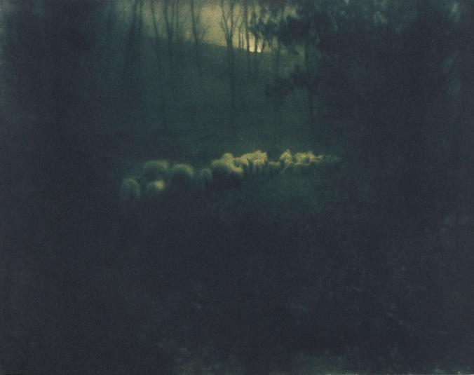 edward-steichen-pastoral moonlight