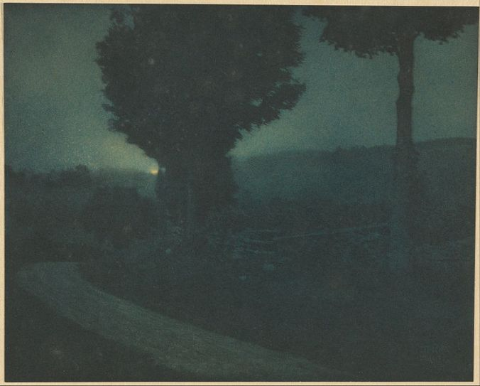 Edward_Steichen_(American_-_(Road_into_the_Valley_--_Moonrise)_-_Google_Art_Project