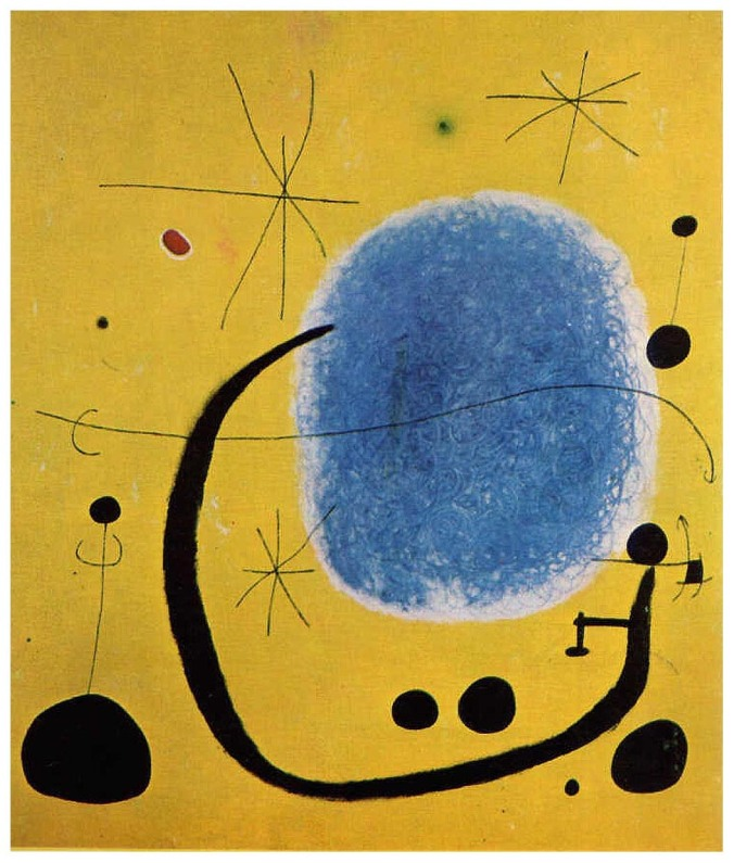 Joan Miro the-gold-of-the-azure