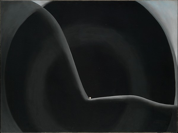 georgia black abstraction