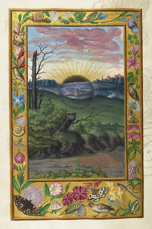 Black Sun from splendor solis