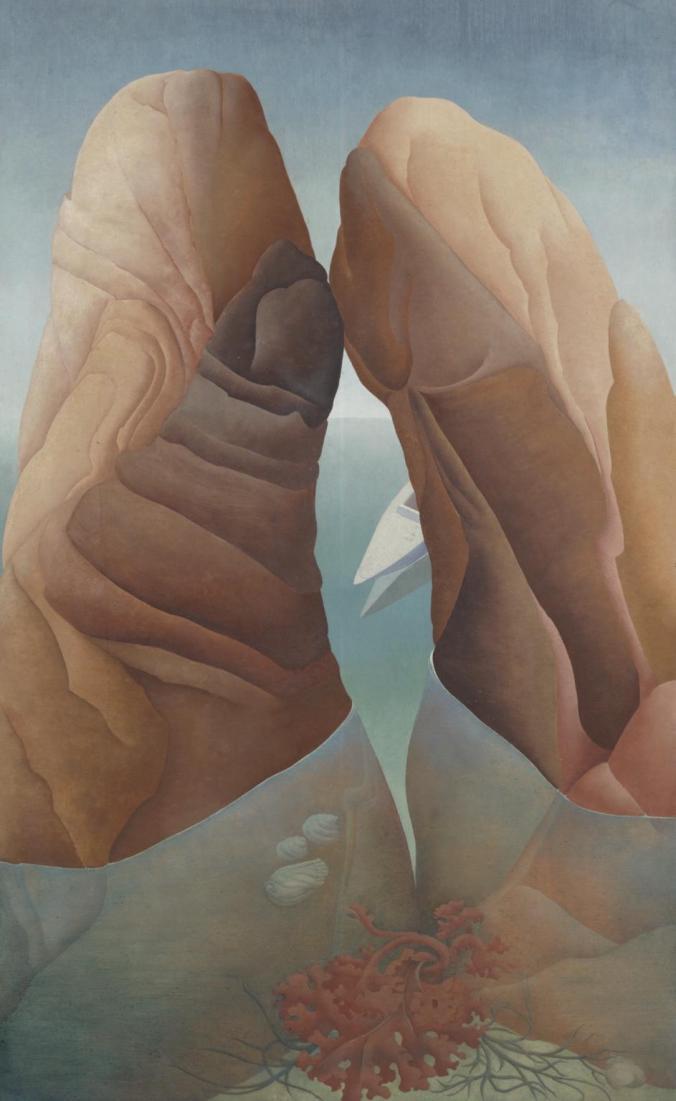 Scylla 1938 by Ithell Colquhoun 1906-1988