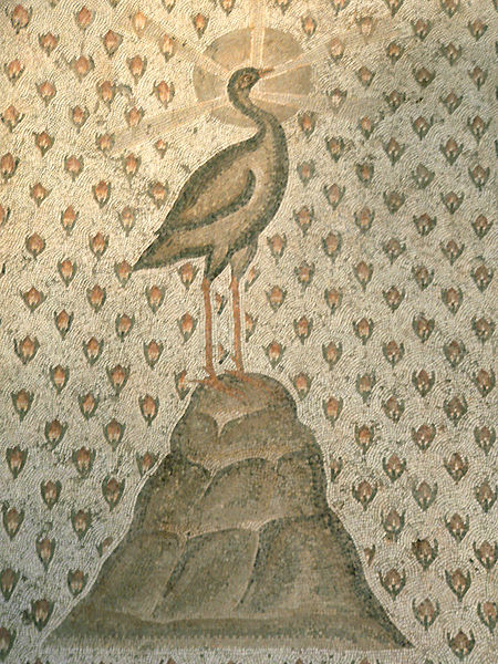 Phoenix mosaic