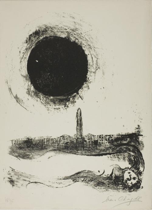 chagall la nuit blanche