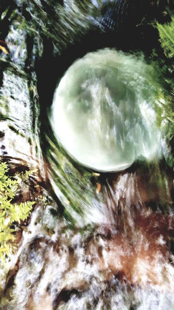 fluorite waterfall