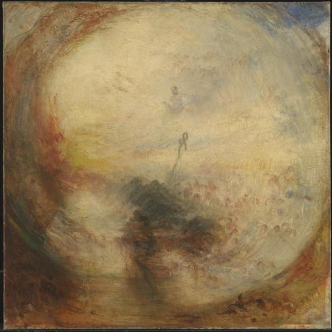 Light and Colour (Goethe's Theory)  - the Morning after the Deluge - Moses Writing the Book of Genesis exhibited 1843 by Joseph Mallord William Turner 1775-1851