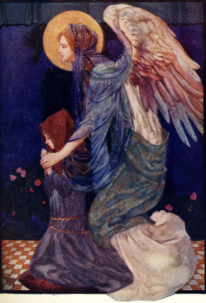 the-guardian-angel-william-russell-flint