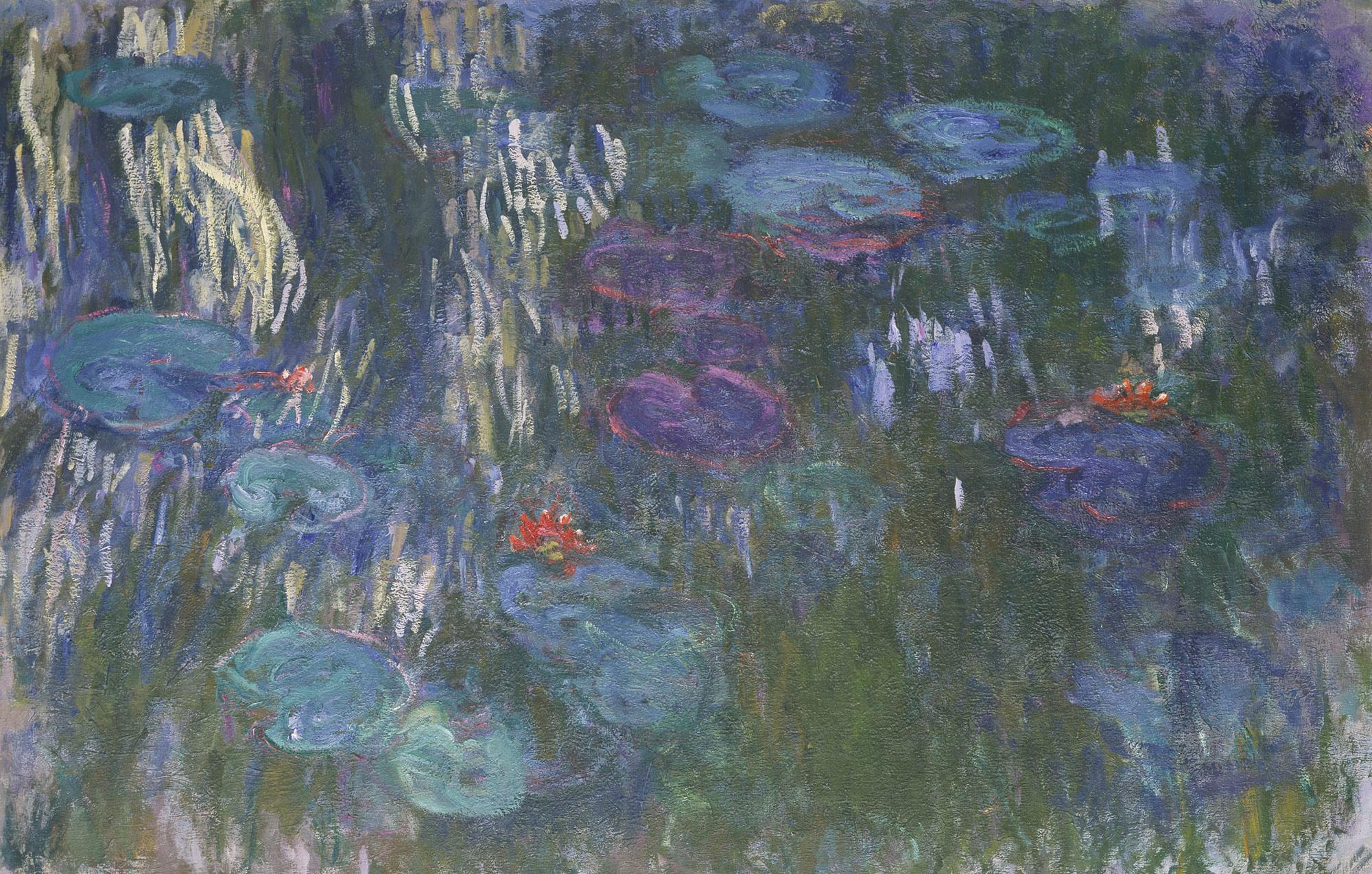 Monet, water lillies