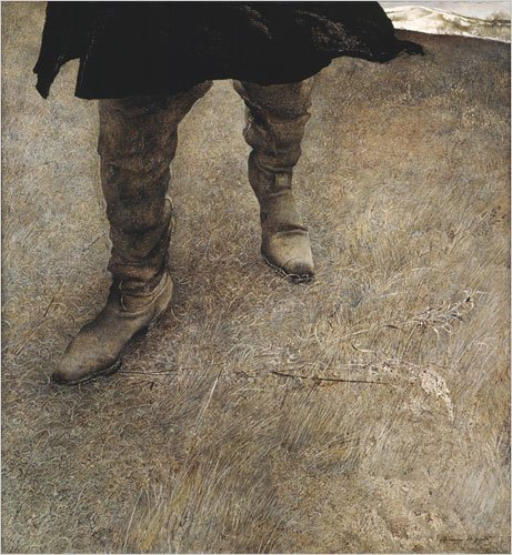 Andrew Wyeth trodden weed
