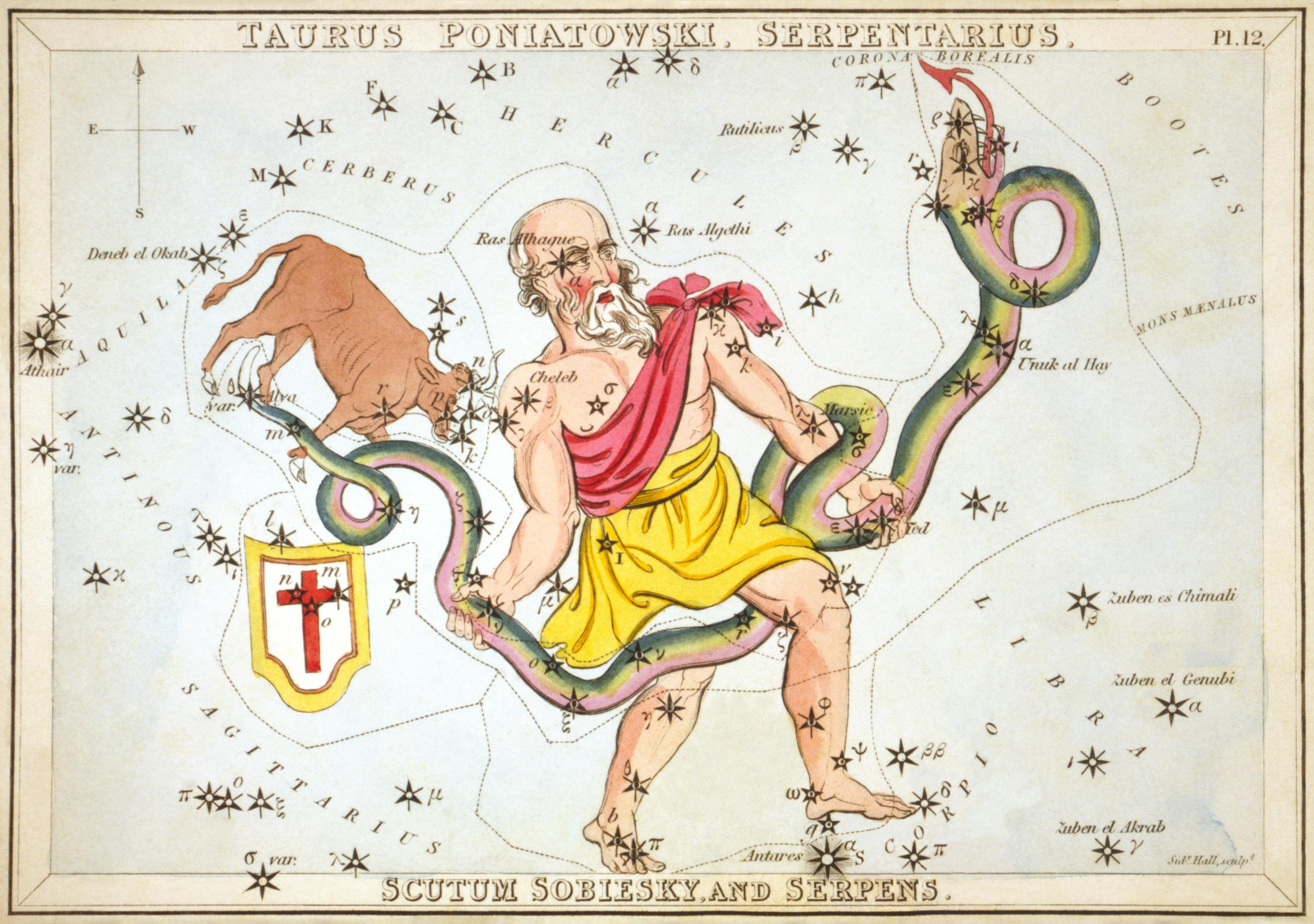 Urania's_Mirror_Serpentarius_Serpens