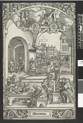 Mercurius british museum print