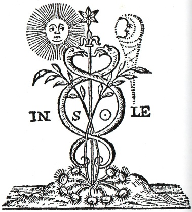 caduceus sun and moon