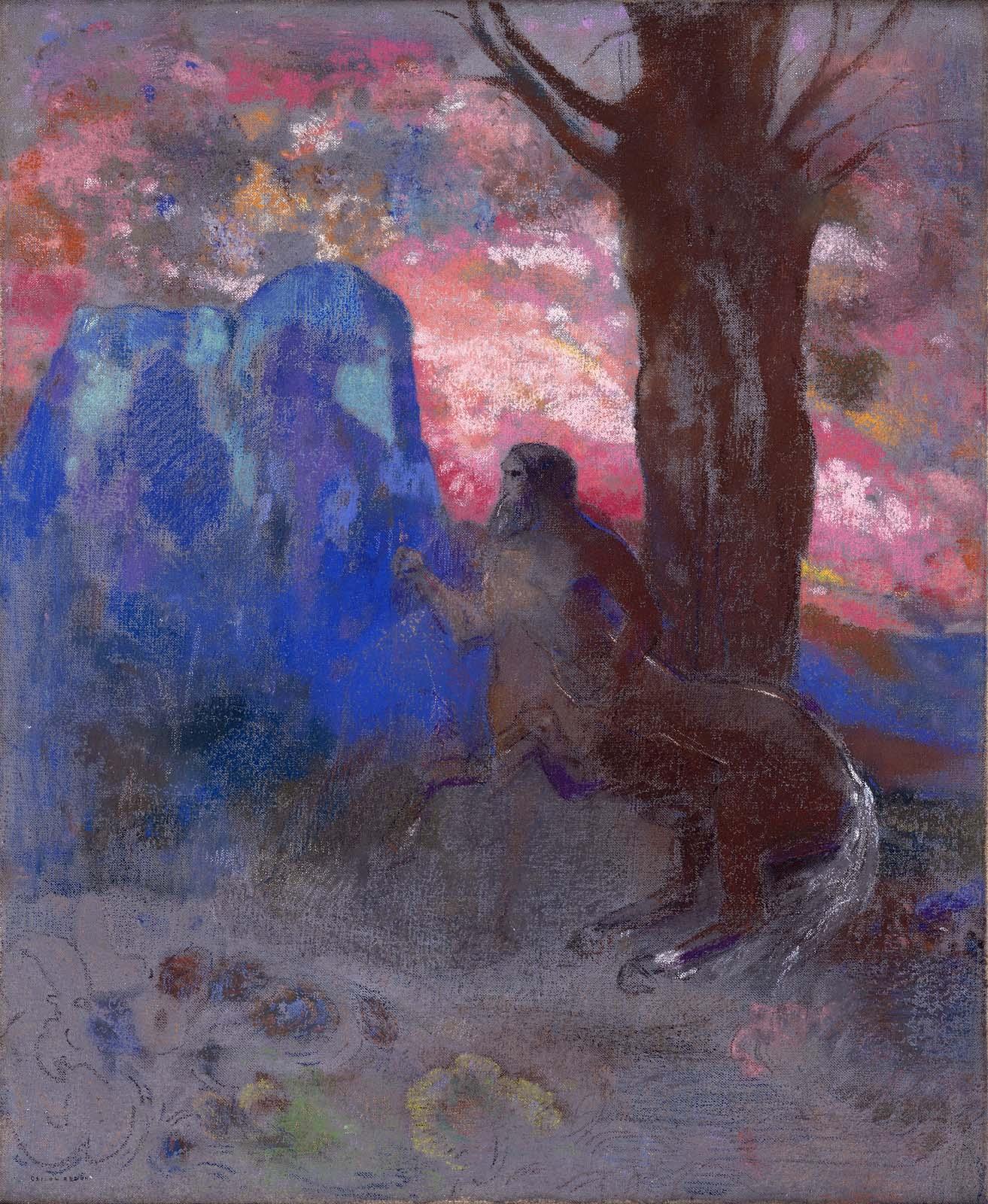 odilon-redon-centaur-1900-trivium-art-history