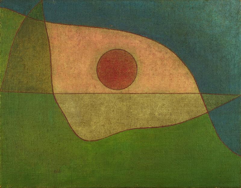 Paul Klee gaze of silence