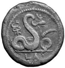Agathos Daimon coin