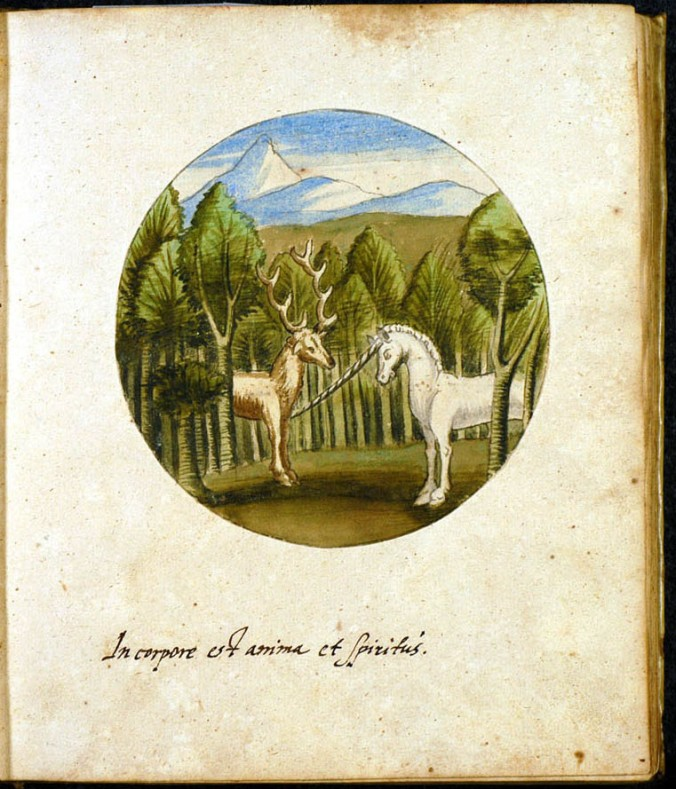 lamspring unicorn and deer