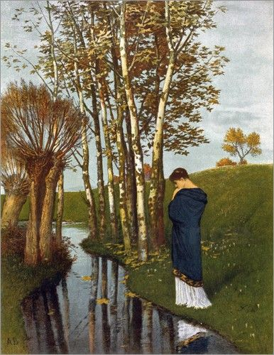 autumn thoughts arnold bocklin