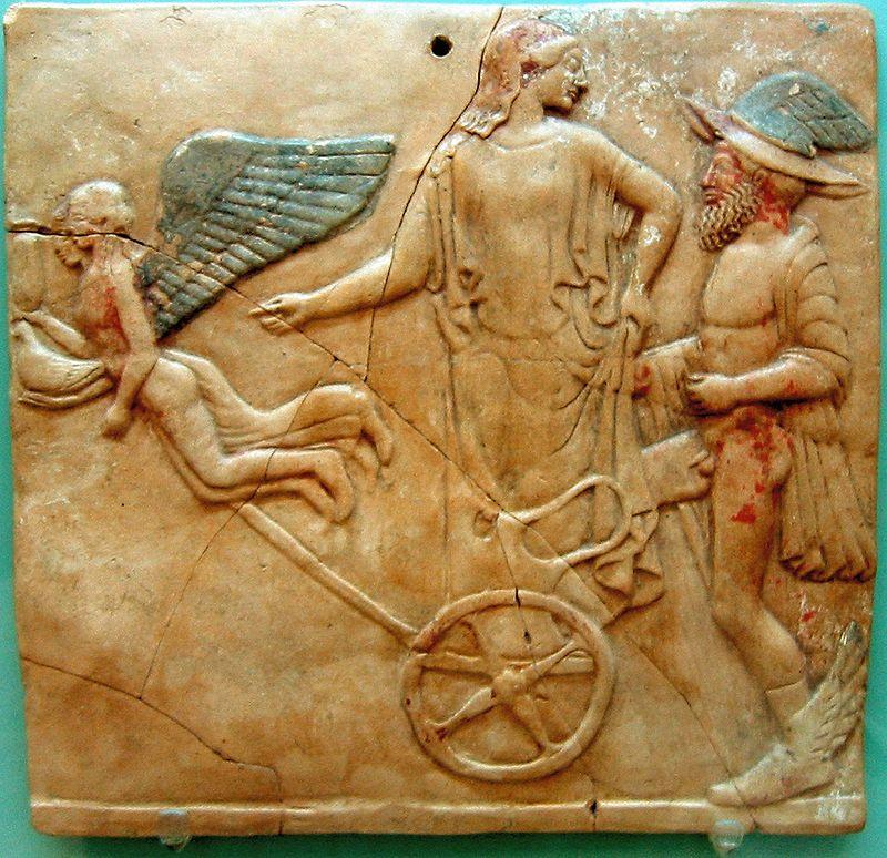 Eros_Hermes_And_Aphrodite