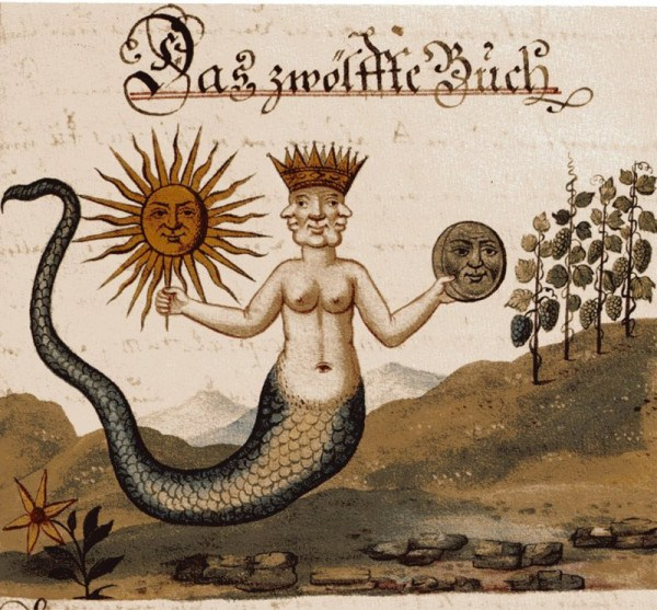 Clavis Artis mercury snake woman