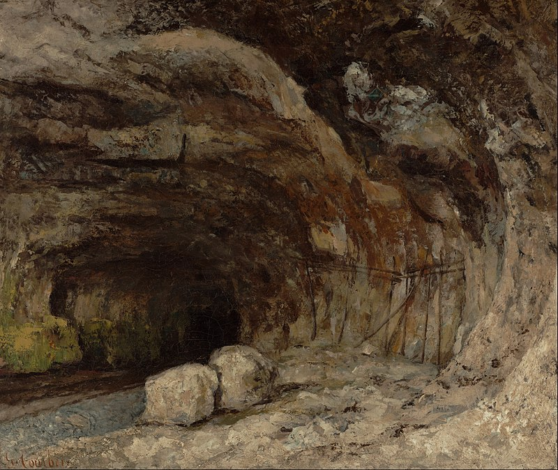 Gustave_Courbet_(French_-_Grotto_of_Sarrazine_near_Nans-sous-Sainte-Anne_-_Google_Art_Project