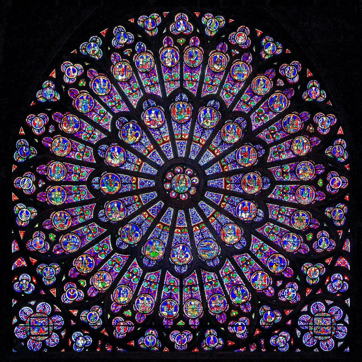 Notre Dame North Rose Window