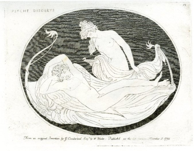 Psyche disobeys by William Blake