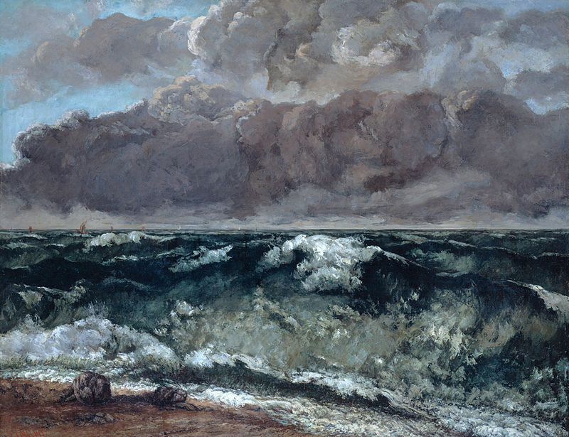 Gustave_Courbet_the wave